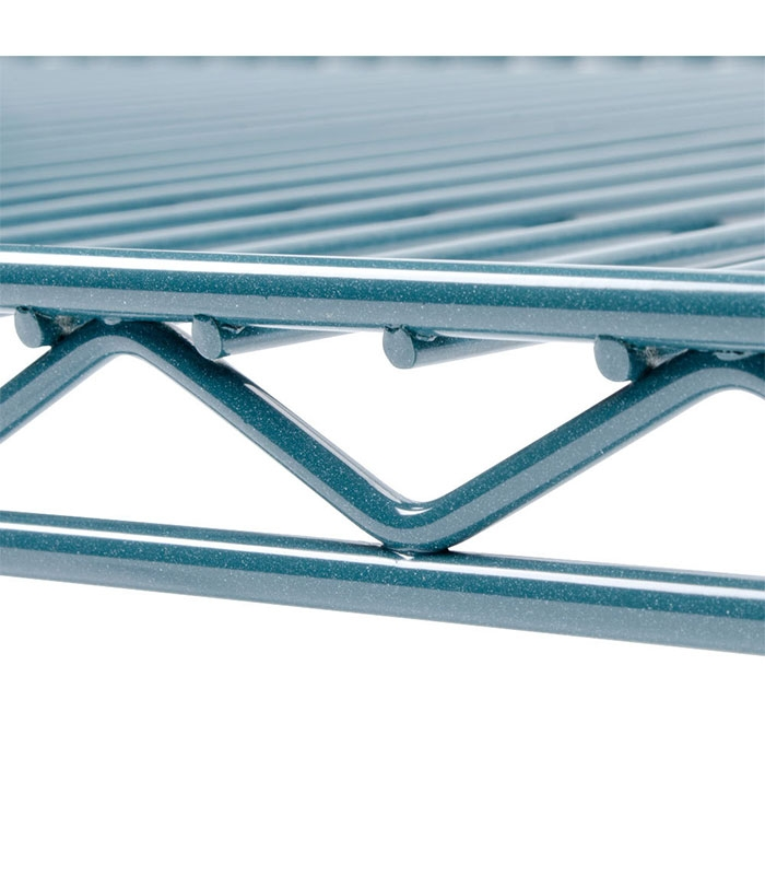 Green Epoxy-coated Wire Rack, Rust Resistant, height 63\