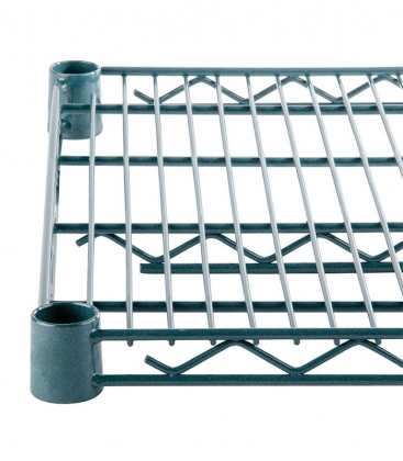 Green Epoxy Wire Rack H-74""