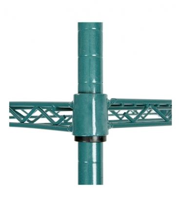 "Green Epoxy Wire Rack H-86"""