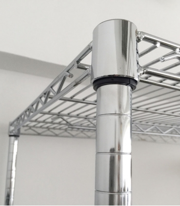 Chrome Wire Rack H-86""