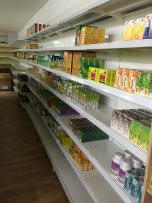Pharmacy store shelving - Chinese medications