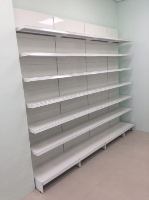 Pharmacy Store Shelving Pharmaceuticals Display Shelf