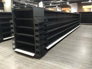 Supermarket gondola shelving